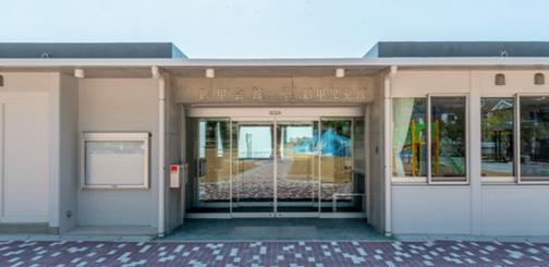 鶴甲会館正面入口