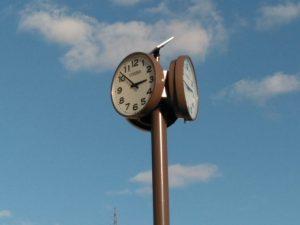 鶴甲公園 時計設置